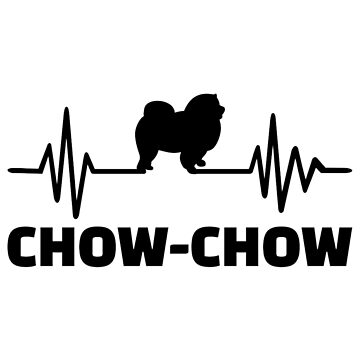 Chow-chow heartbeat by Designzz