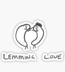 Lemming Love Sticker