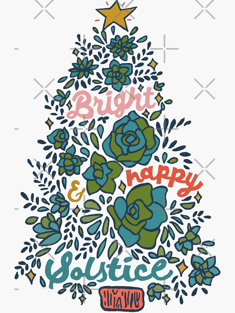 Bright and Happy Solstice by doodlebymeg