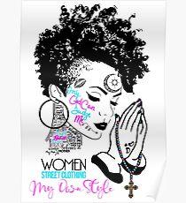 Tupac v.3.2 Women Poster