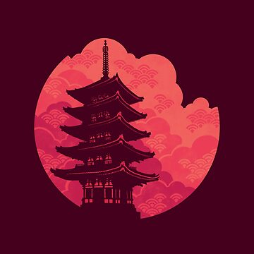 Pagoda Sunset de Waynem79