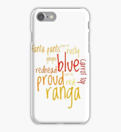 Ranga! iPhone Case/Skin