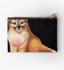 Watercolor dingo Studio Pouch