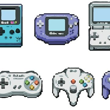 Nintendo consoles by diffy2009