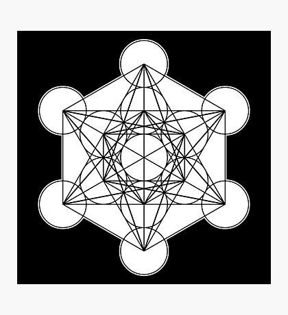 Metatron's Cube 002 Photographic Print