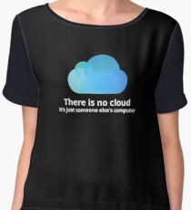 There is no cloud Chiffon Top