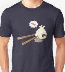 Boulette blessée par des baguettes T-shirt unisexe