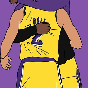 LeBron And Lonzo by RatTrapTees