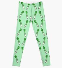 Cute spring onion Leggings