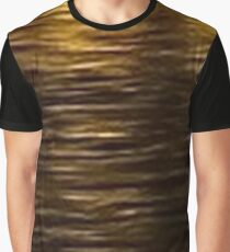 Night Shimmering Gold Graphic T-Shirt