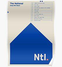 Der nationale Poster
