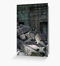 Ta Prohm - Crumbling Beauty Greeting Card