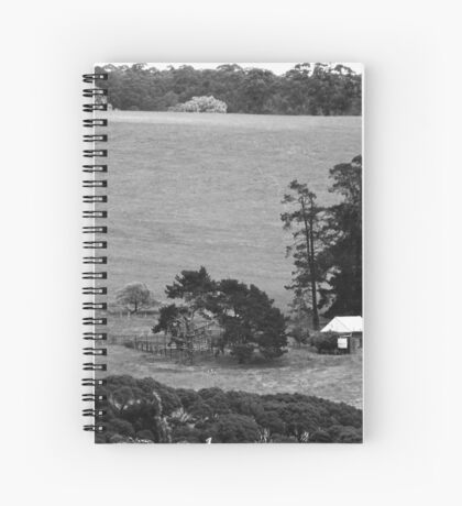 House on the hill. Spiral Notebook