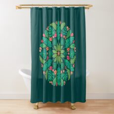Tropical Sun Shower Curtain
