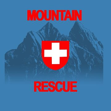 Mountain Rescue - Red Text by Orikall