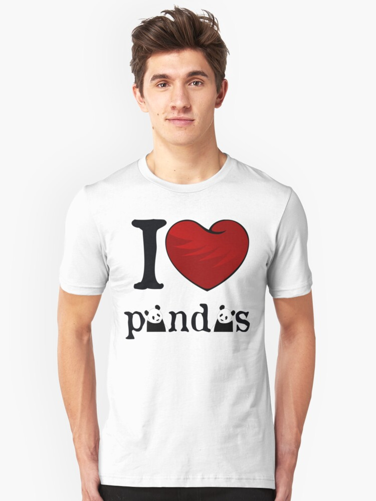 I heart Pandas by Cathie Tranent