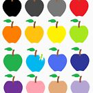 Multi Color Apples by Pretty Fly