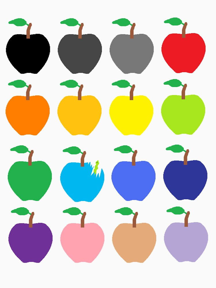 Multi Color Apples by PrettyNickie