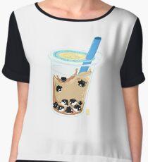 Tapiorca Milk Tea  Chiffon Top