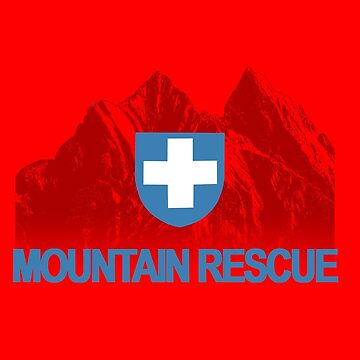 Mountain Rescue - Blue Text by Orikall