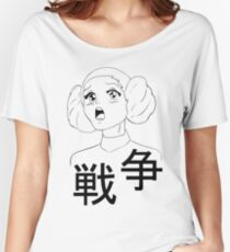 Leia from Star Wars the anime Women's Relaxed Fit T-Shirt