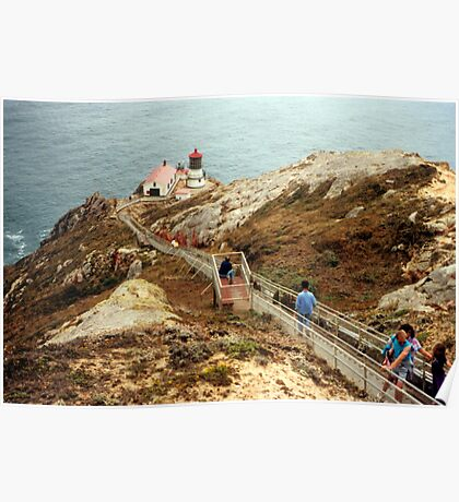 Point Reyes Lighthouse, California Poster