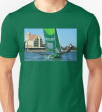 BARTERCARD SKIFF WEST LAKES, SOUTH AUSTRALIA Unisex T-Shirt
