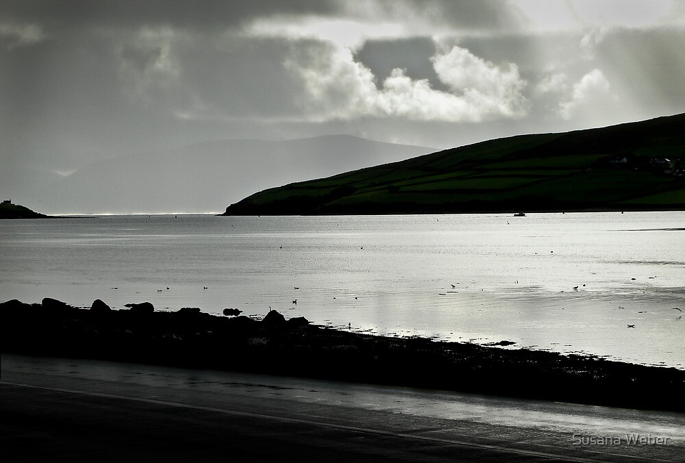 Odd light on Dingle Bay by Susana Weber
