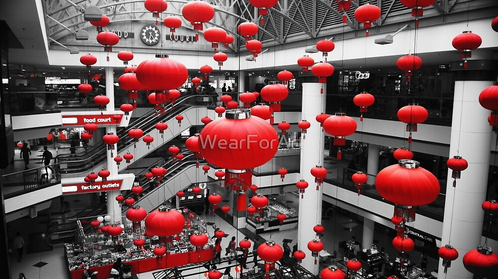 Red Collection - Lanterns by WearForArt