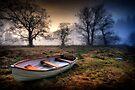 Loch Ard Dinghy by David Mould