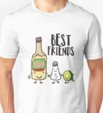 'Best Friends Tequila ' Cool National Tequila Day Gift  Unisex T-Shirt