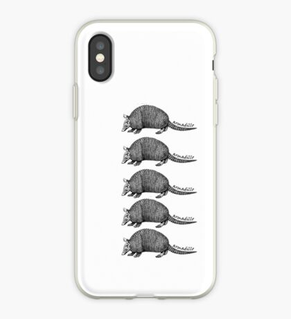 Army-dillos iPhone Case