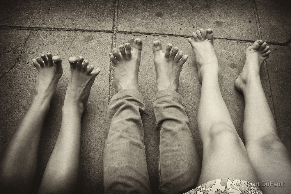 Feet - Argentina by Kent DuFault