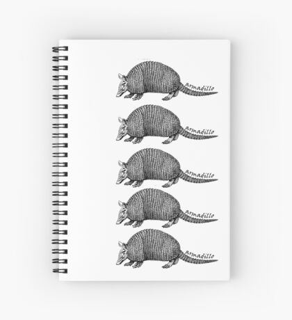 Army-dillos Spiral Notebook