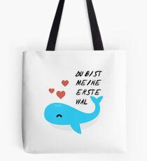 sweet whale Tote Bag