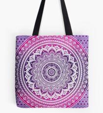 Mandala Purple Tote Bag