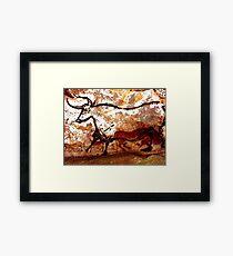 #Lascaux #Cave #Paintings #Bull LascauxCave PaintingsBull LascauxCavePaintingsBull CavePaintings CaveDrawings drawings Framed Print