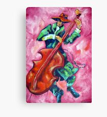 DR. JAZZ Canvas Print