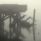 broken pier by lukasdf