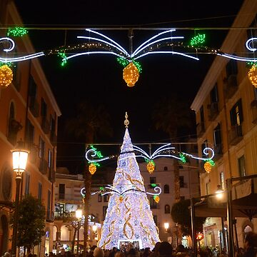 Italy : The Luci d'Artista, Christmas Lights Show in Salerno, December 8,2018 by DANGER-ZONE888