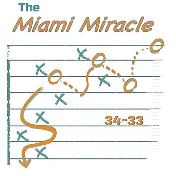 the Miami miracle t shirt  by yellowpinko