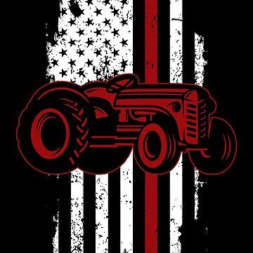 Tractor America by GeschenkIdee