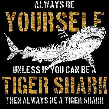 Tiger shark animal by GeschenkIdee
