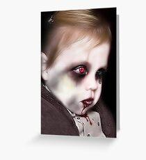 Living Doll Greeting Card