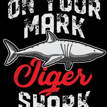 Tiger shark Lauer by GeschenkIdee