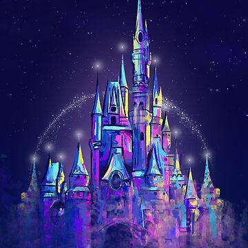 Prinzessin Magical Castle Orlando von tachadesigns