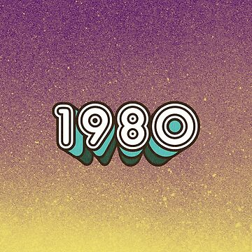 1980 by retroready