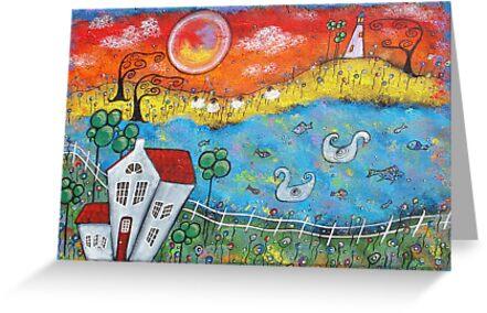 """A Whimsical View"" by Juli Cady Ryan"