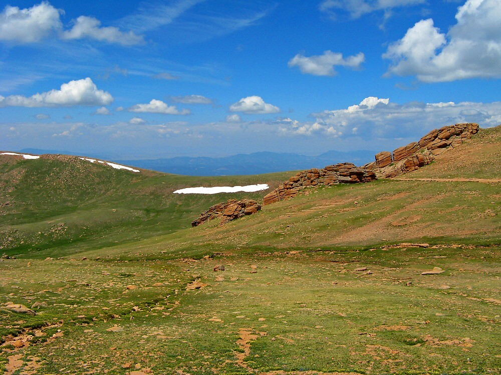 Pikes Peak Vista 5 by Terry Watts