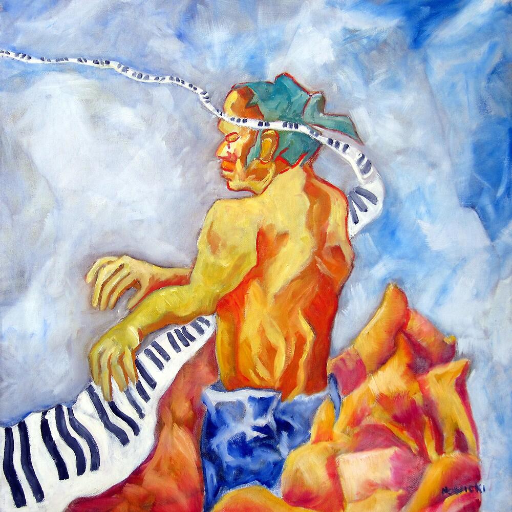 ZEN PIANO by IRENE NOWICKI